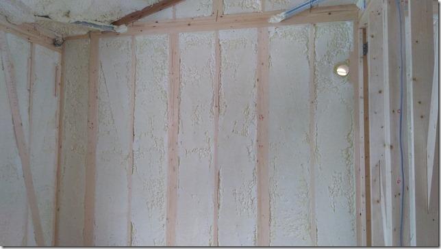 アールギャラリーの吹付断熱壁面画像