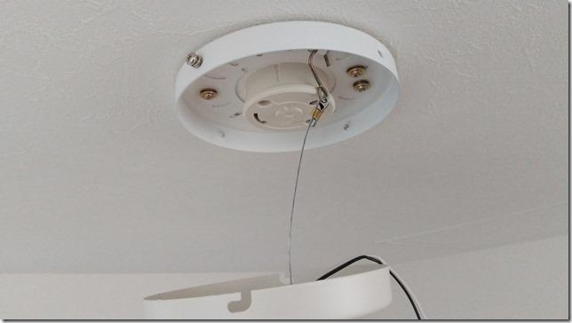 天井に落下防止