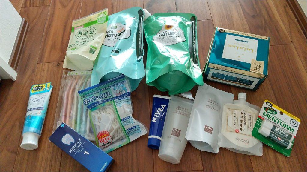 洗顔等洗面具関係